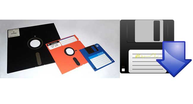 The Floppy Disk means Save… Image