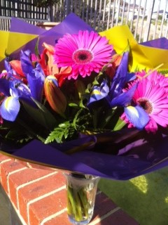 Flowers from a client! Image