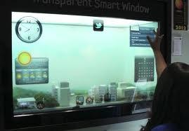 CES – Samsung's Smart Window Image