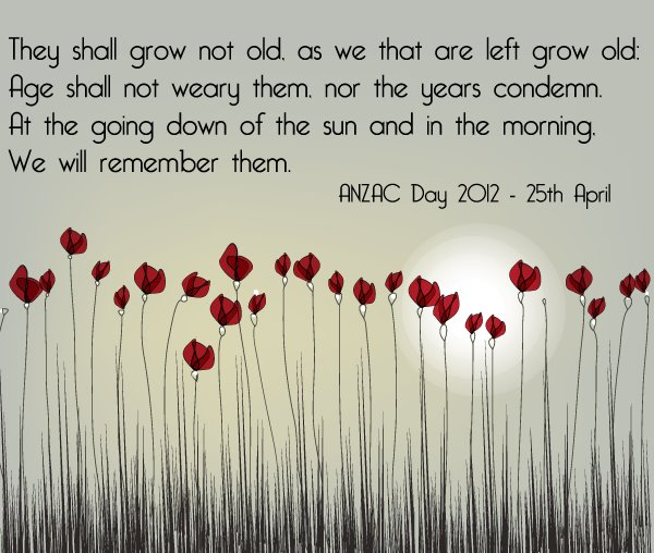 Lest We Forget Image