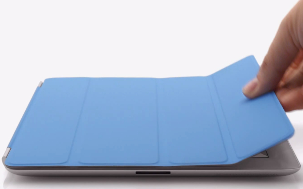 New iPad smart cover problem Image