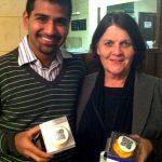 Joe Dias, Swan Valley Chiropractic (Life Health & Wellness) with Lynne Reid, Homestead Realty.
