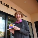 Personal delivery to Alison Kidman at Collie Public Library.