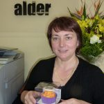 We go waaaaay back with Alder Tapware, so it was nice to give a token of thanks to Suzi, who was thrilled.