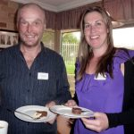 David Laidlaw from Suzzanne Laidlaw (Action Coach) and Emma Oliver from Complete Financial Planning Pty Ltd.