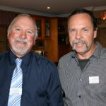 Clive Haddow, Joondalup Business Association and Brett Flatters from Staying in Touch.