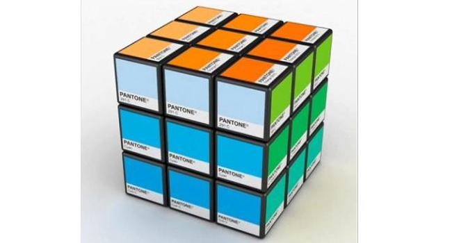 Pantone Cube Image