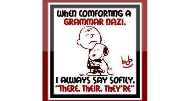 Grammer Nazi Image