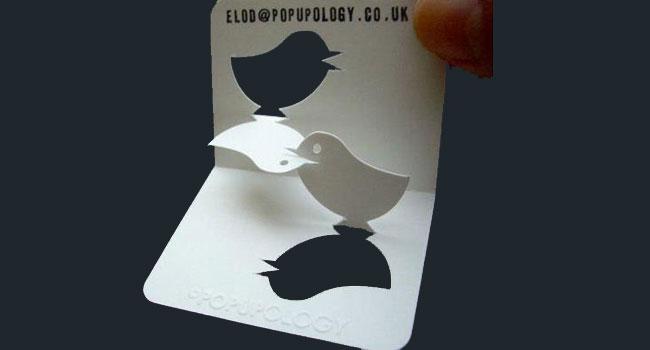 Unique 3D Business Cards Image