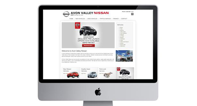 Avon Valley Nissan – Keeping Their Website up to Date Image