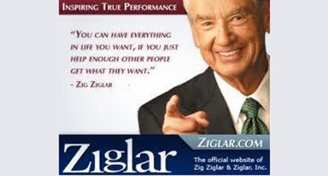 RIP Zig Ziglar Image