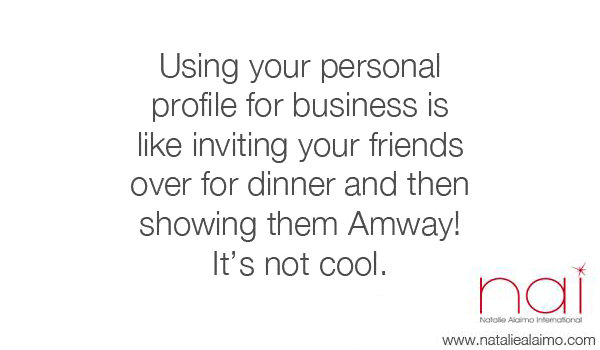 Using your personal Facebook for business Image