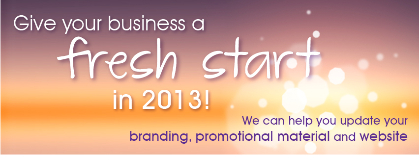 Give your business a fresh start in 2013 Image