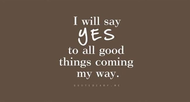 Say Yes! Image