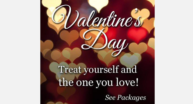 Valentine's Day promotion for The Source Hairdressing Image