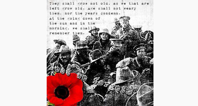 Lest we forget… Image