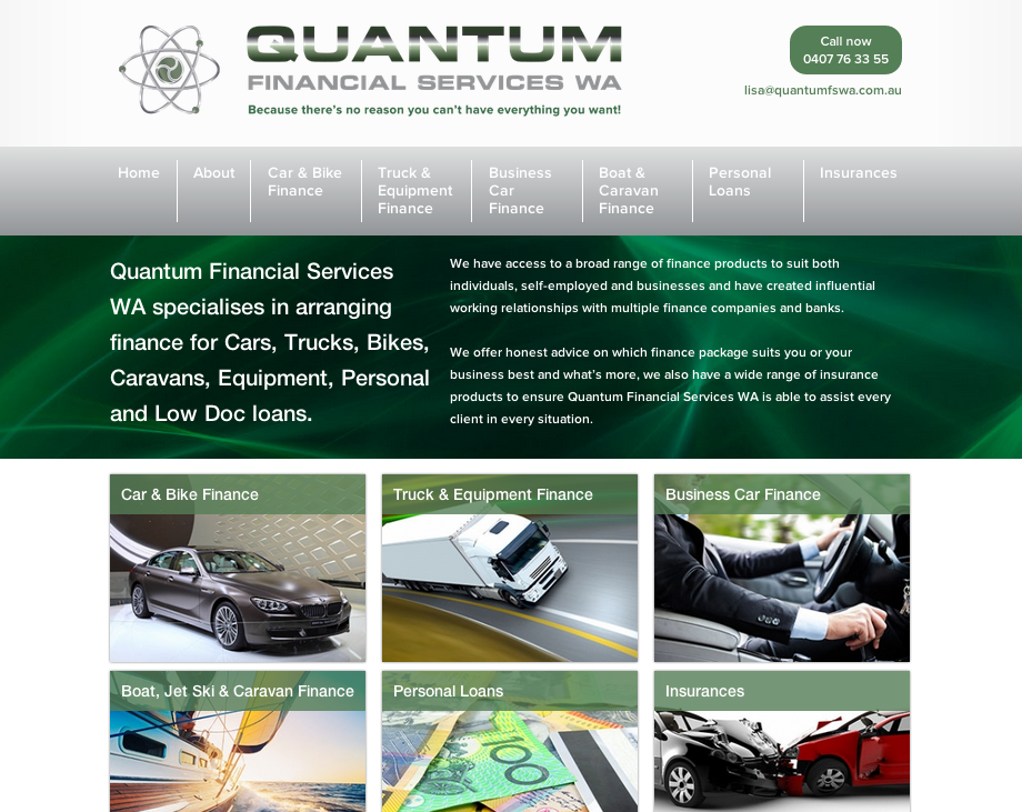 New Website – Quantum Financial Services Pty Ltd Image