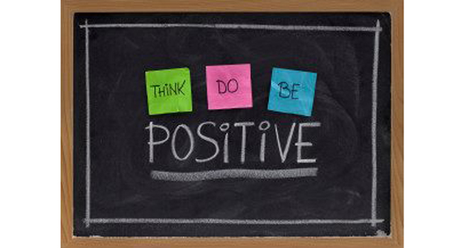 Think-Do-Be Positive Image