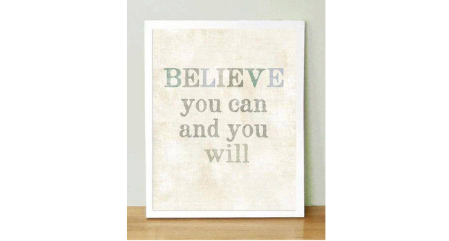 Believe in yourself and believe in your goals… Image