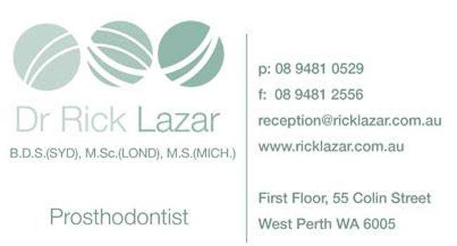 We've enjoyed the Rebranding journey for Dr Rick Lazar Image