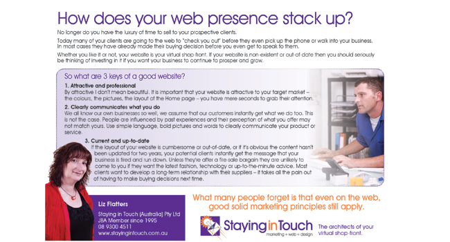 How does your web presence stack up? Image
