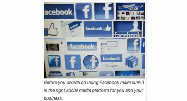 Still not sure if a Facebook Page is right for your business? Image