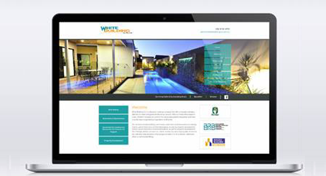 Website Redesign for White Building Co Pty Ltd Image
