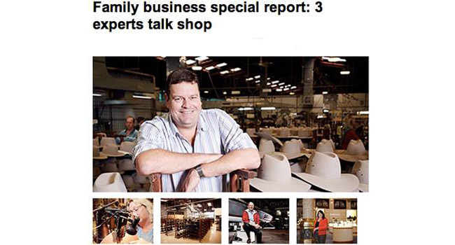 Not all family businesses are small business Image