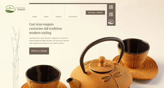 New website for Contemporary Teapots Image