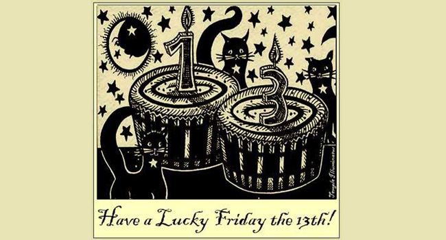 Have a lucky Friday the 13th! Image