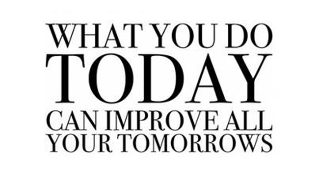 What will you do today? Image