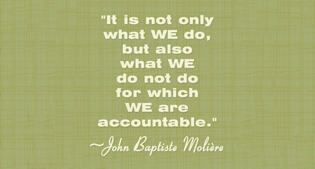 Goal setting in business – who keeps you accountable? Image