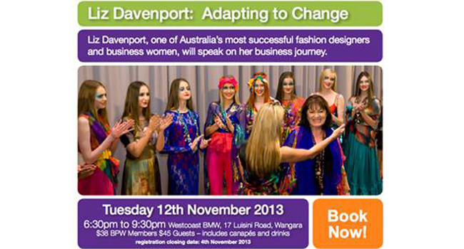 Liz Davenport is speaking at this event! Image