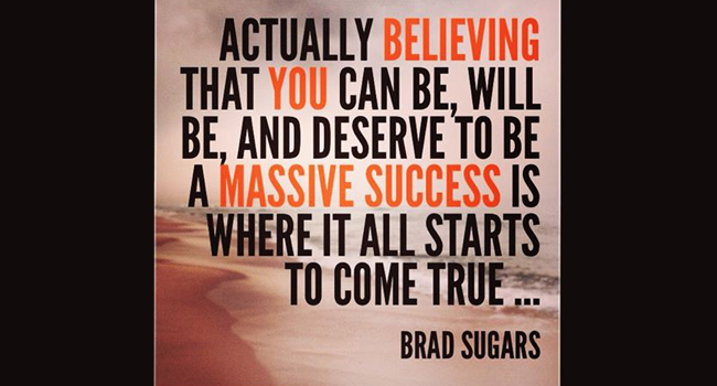 Believe in yourself Image