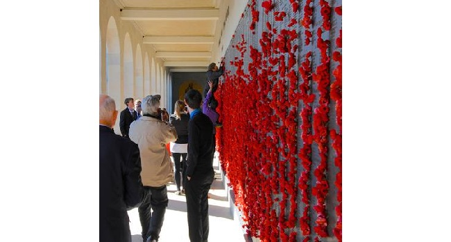 A minute's silence this morning for Remembrance Day Image