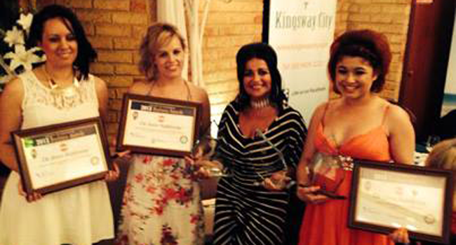 The Source Hairdressing for winning THREE awards! Image