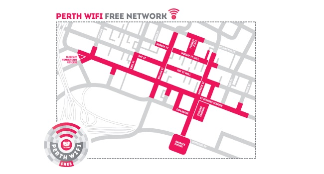 Free WiFi in the Perth CBD starts today! Image