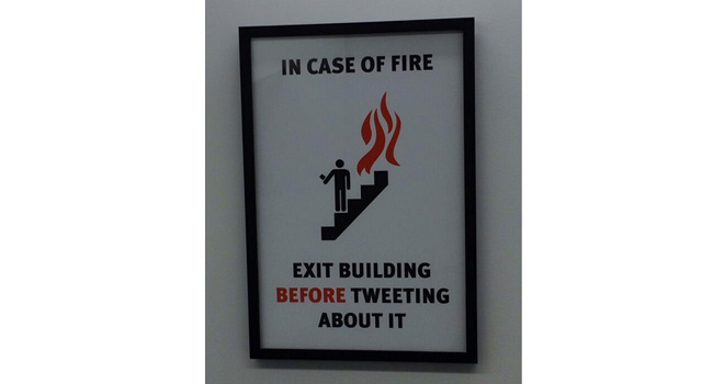 Some important social media fire safety advice Image