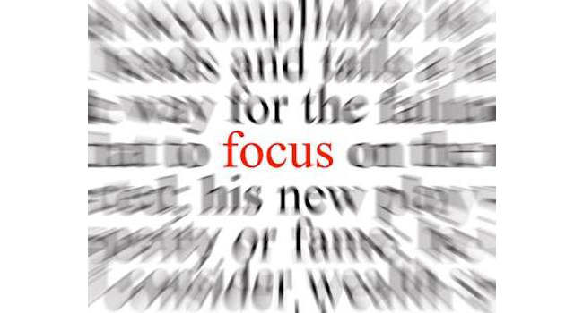 Stay focused – Work on one task at a time Image