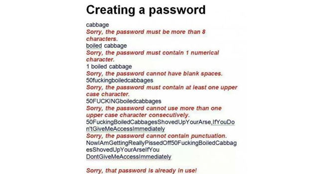 Creating a Password Image