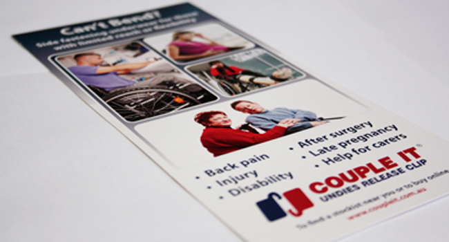 New flyer for Couple It Image