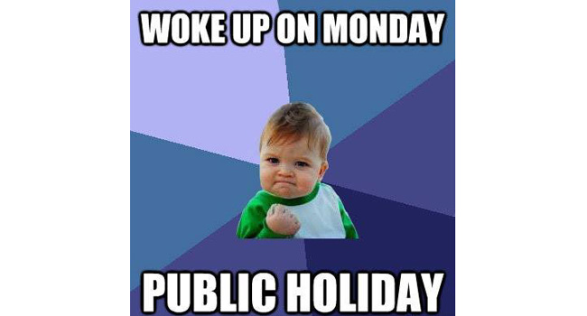 Yet another public holiday in WA! Image