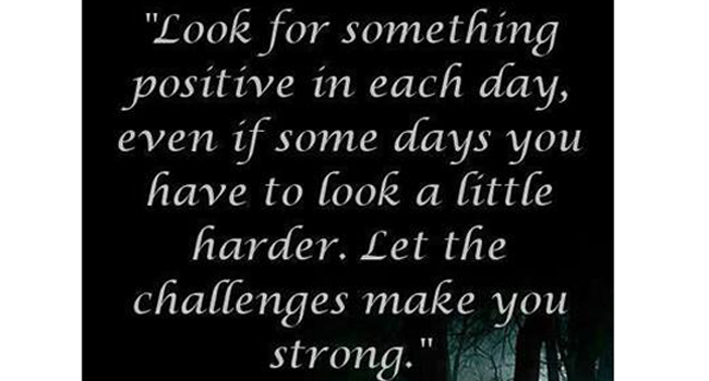 Staying positive Image