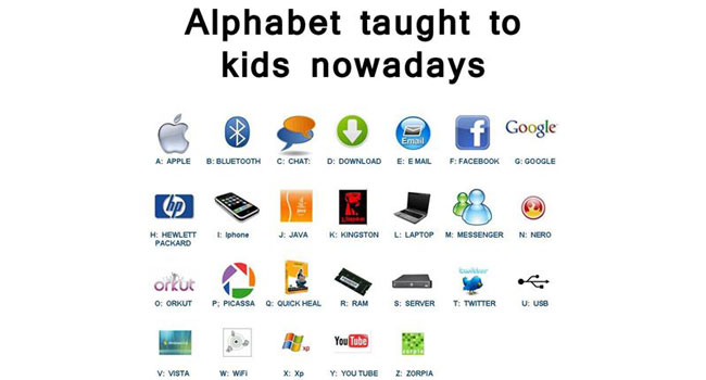 What kids learn these days Image