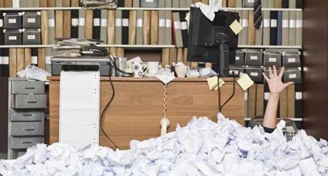 Paperwork Overload Image