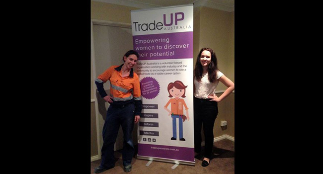 New Pull-up Banner for Tradeup Image