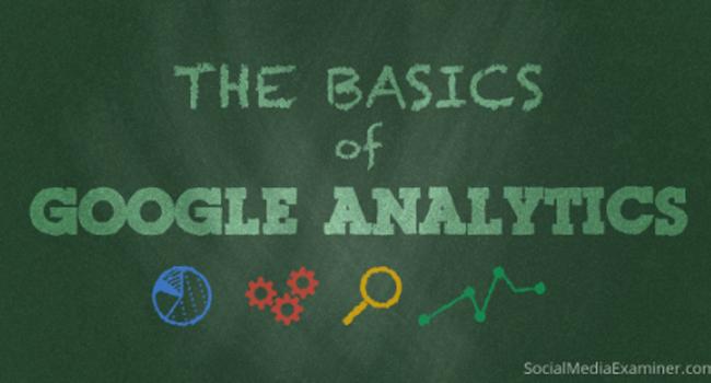 The basics of Google Analytics Image