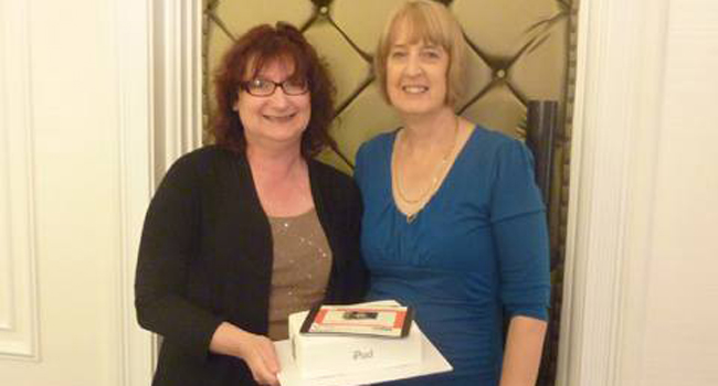 """""""Thank You Cake"""" for Jo Tetlow from One Eighty Wealth & Money Image"""