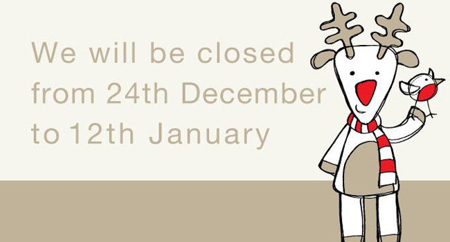 Christmas Closing Dates Image