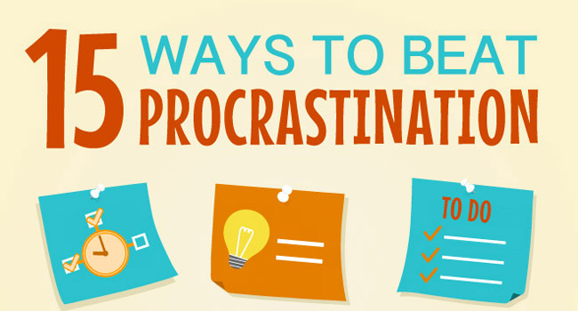 Fed Up With Procrastination? You Can Beat It! Image